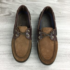 Sperry Brown Authentic Original Leather Boat Shoe